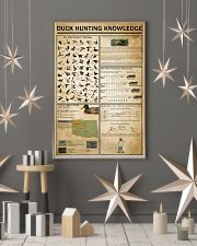 Duck Hunting Knowledge 11x17 Poster lifestyle-holiday-poster-1