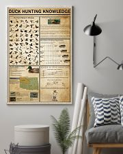 Duck Hunting Knowledge 11x17 Poster lifestyle-poster-1