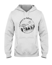 I Want To Believe Hooded Sweatshirt front