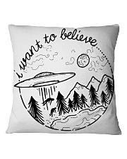 I Want To Believe Square Pillowcase thumbnail