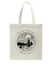 Here Comes The Sun Tote Bag tile