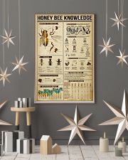 Honey Bee Knowledge 11x17 Poster lifestyle-holiday-poster-1