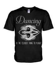 Love Dancing V-Neck T-Shirt thumbnail