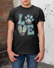 Love Camping And Dog Classic T-Shirt apparel-classic-tshirt-lifestyle-31