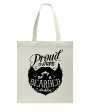 Proud Owner Of A Bearded Tote Bag thumbnail