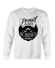 Proud Owner Of A Bearded Crewneck Sweatshirt thumbnail
