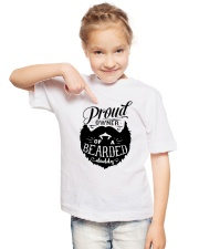 Proud Owner Of A Bearded Youth T-Shirt lifestyle-youth-tshirt-front-2