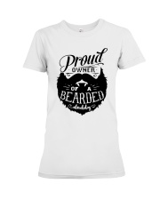 Proud Owner Of A Bearded Premium Fit Ladies Tee thumbnail