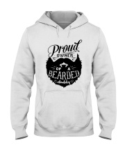 Proud Owner Of A Bearded Hooded Sweatshirt thumbnail