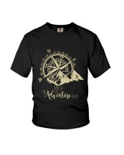 The Adventure Begins Youth T-Shirt thumbnail