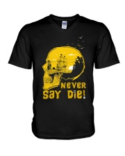 Never Say Die V-Neck T-Shirt thumbnail