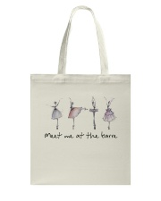 Meet Me At The Barre Tote Bag tile