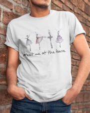 Meet Me At The Barre Classic T-Shirt apparel-classic-tshirt-lifestyle-26