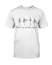 Meet Me At The Barre Classic T-Shirt front