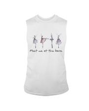 Meet Me At The Barre Sleeveless Tee tile