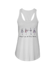 Meet Me At The Barre Ladies Flowy Tank thumbnail