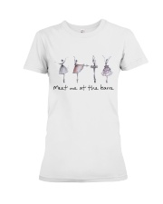 Meet Me At The Barre Premium Fit Ladies Tee thumbnail