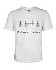 Meet Me At The Barre V-Neck T-Shirt thumbnail