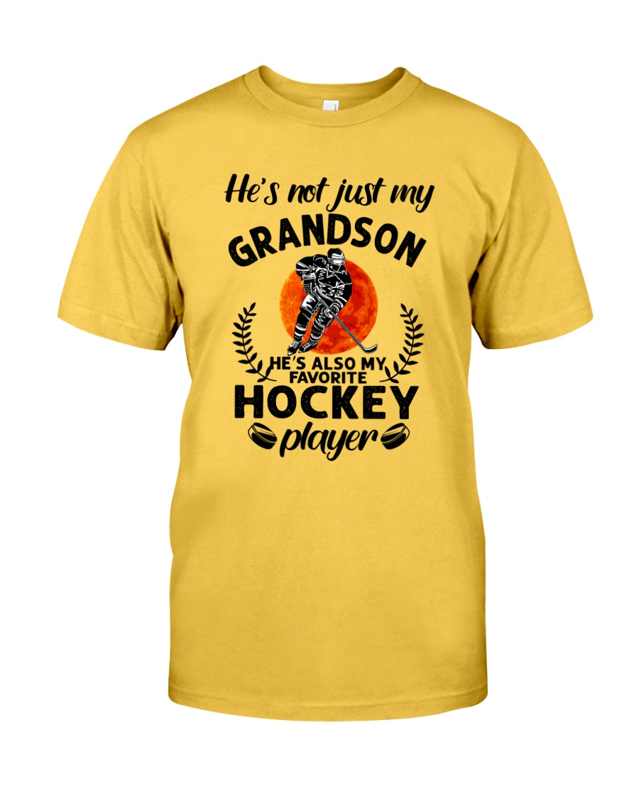 He's Also My Hockey Player Classic T-Shirt