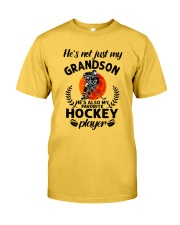 He's Also My Hockey Player Classic T-Shirt front