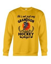 He's Also My Hockey Player Crewneck Sweatshirt thumbnail