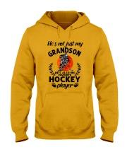 He's Also My Hockey Player Hooded Sweatshirt thumbnail
