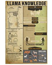 Llama Knowledge 11x17 Poster front