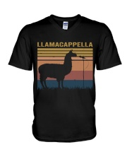 Llamacappella V-Neck T-Shirt tile