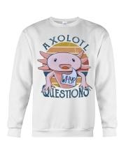 Axolotl Question Crewneck Sweatshirt thumbnail