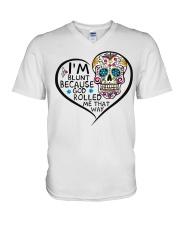 I'm Blunt V-Neck T-Shirt thumbnail