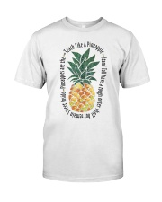 Teach Like A Pineapple Classic T-Shirt front