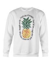 Teach Like A Pineapple Crewneck Sweatshirt thumbnail