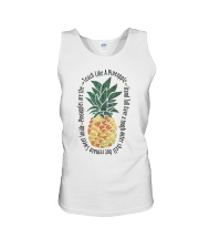 Teach Like A Pineapple Unisex Tank thumbnail