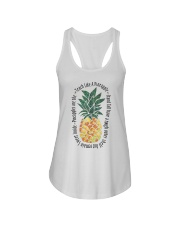 Teach Like A Pineapple Ladies Flowy Tank thumbnail