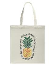Teach Like A Pineapple Tote Bag thumbnail