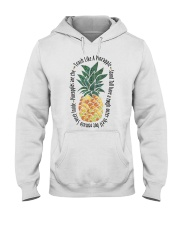 Teach Like A Pineapple Hooded Sweatshirt thumbnail