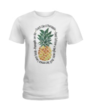 Teach Like A Pineapple Ladies T-Shirt thumbnail