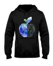 I Became A Teacher Hooded Sweatshirt thumbnail