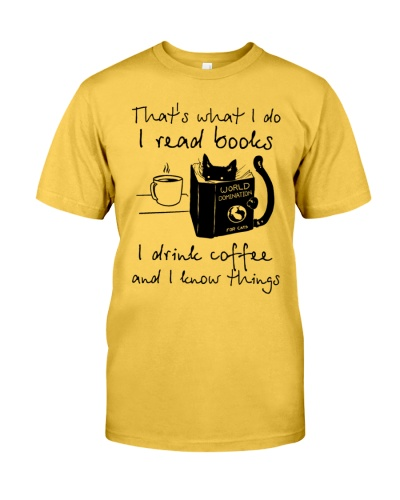 That's What I Do I Read Books