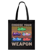 Choose Your Weapon Tote Bag thumbnail