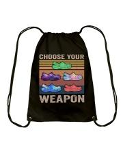 Choose Your Weapon Drawstring Bag thumbnail