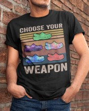 Choose Your Weapon Classic T-Shirt apparel-classic-tshirt-lifestyle-26