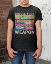 Choose Your Weapon Classic T-Shirt apparel-classic-tshirt-lifestyle-31