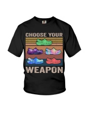 Choose Your Weapon Youth T-Shirt thumbnail