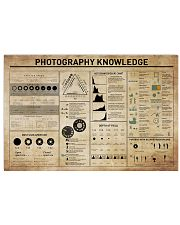 Photography Knowledge 17x11 Poster front