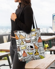 Love Dog All-over Tote aos-all-over-tote-lifestyle-front-04