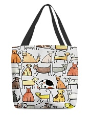 Love Dog All-over Tote back
