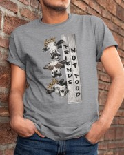 Friends Not Food Classic T-Shirt apparel-classic-tshirt-lifestyle-26
