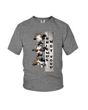 Friends Not Food Youth T-Shirt thumbnail
