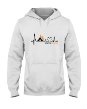 Just Go Camping Hooded Sweatshirt front